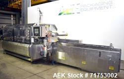 "Used- Serpa Model 5000AL Automatic Horizontal Cartoner with Glue Flap Closure. Carton size range: 5.75""-9"" length, 2""-3.5"" w..."