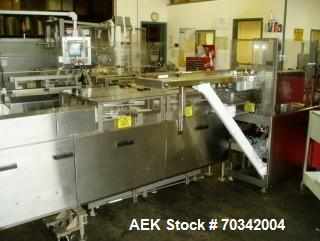 Used- MGS, Model HCM-750 Continuous Motion Horizontal Cartoner