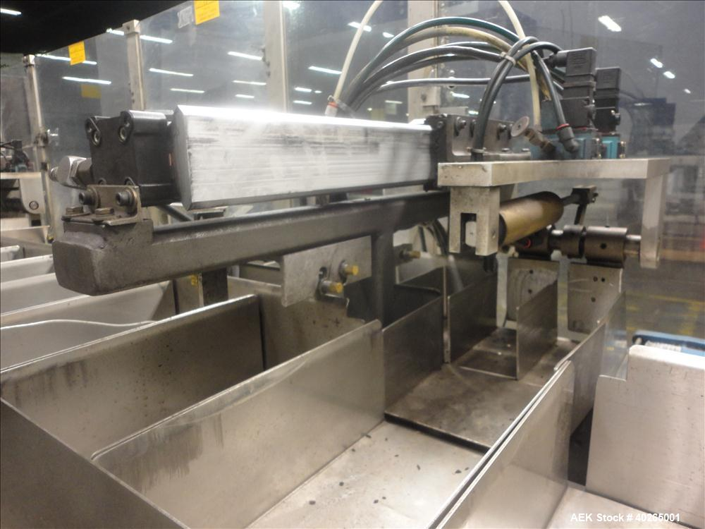 Used- Clybourn Model IAGP Automatic Intermittent Motion Horizontal Carton