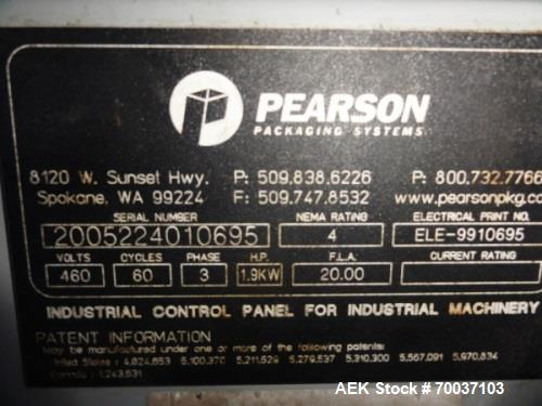 Used- RA Pearson Model C2240 Carton Combiner