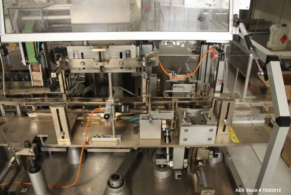Used- Promatic AS 60 Cartoning machine with tuck in closure