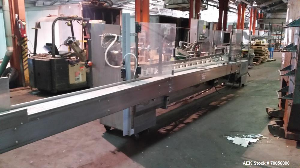 Used- Tanney Stainless Steel Cartoner; Model 901-12-SS.