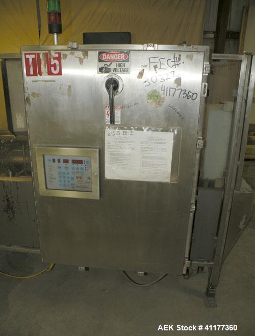 Used- Tisma Automatic Horizontal Cartoner, Model TC600M FX