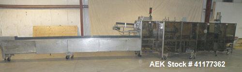 Used- Tisma Automatic Horizontal Cartoner, Model TC-600M