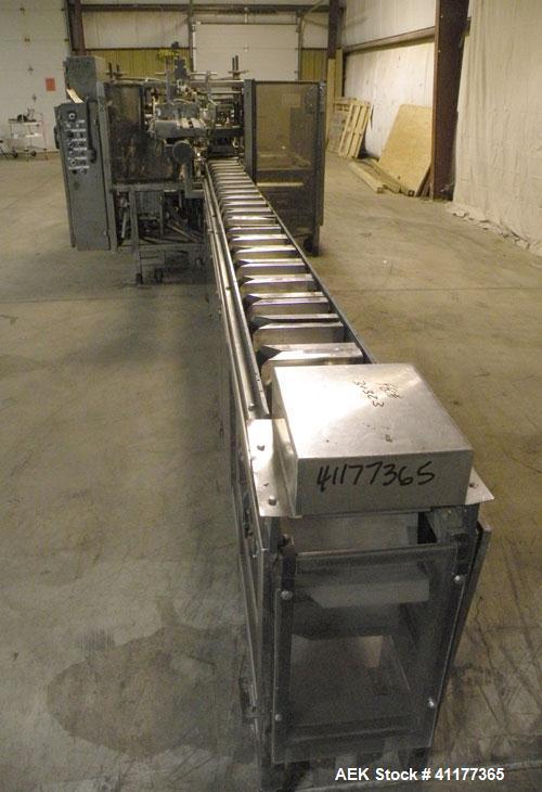 Used- Tisma Automatic Horizontal Hot Glue Cartoner, Model TC-600M