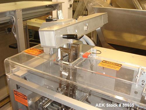 Used- Uhlmann C2304 High Speed Blister Cartoner