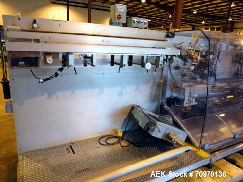 Used- Z Automation CH7.5 250 C Automatic Horizontal Blister Pack Cartoner
