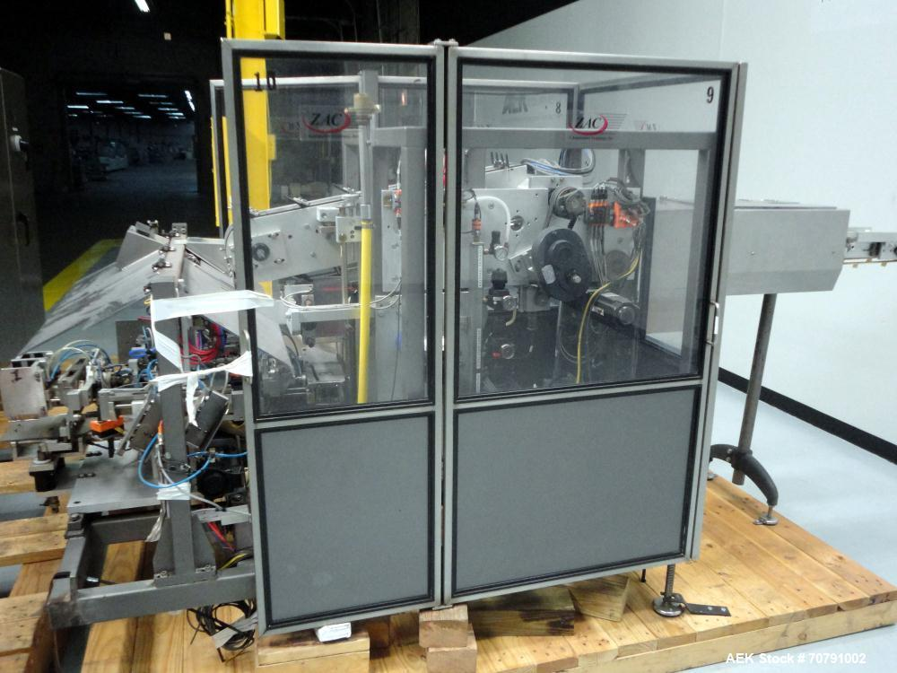 Used- Z-Automation Model CH9-401 Hot Melt Glue Horizontal Load Cartoner