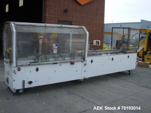 Used-Adco Model 15D105-100EC Horizontal Hand Load Cartoner