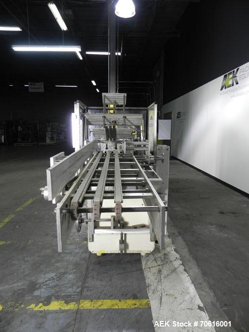 Used- Adco Model 105D125EC Semi-Automatic Horizontal Cartoner