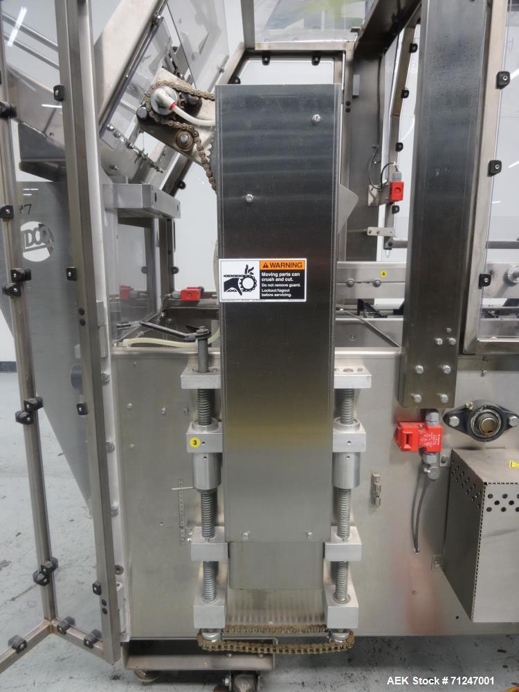 Used- Adco Model 15DZ60SS Semi Automatic Horizontal Cartoner