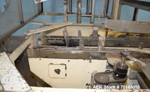 Used- Adco Horizontal Glue Cartoner, Model 15E60EC