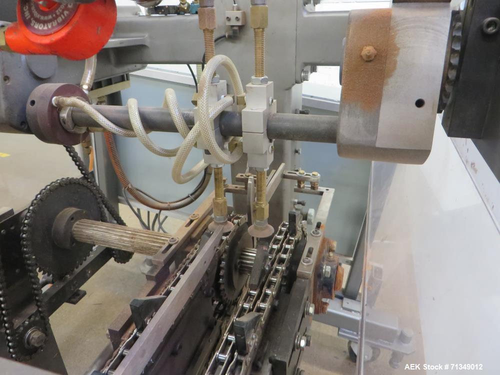 Used- Langen Model B1 Semi-Automatic Horizontal Glue Cartoner