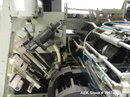 "Used- Marchesini BA400 Automatic Horizontal Cartoner capable of speeds up to 400 cartons per minute. Has 4"" centers for a ca..."