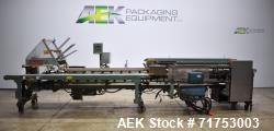 Used- Langen Semi-Automatic Manual Load Horizontal Cartoner