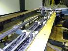 Used- Langen Horizontal Cartoner, Model B1. Capable of speeds up to 120 cartons per minute. Has 9