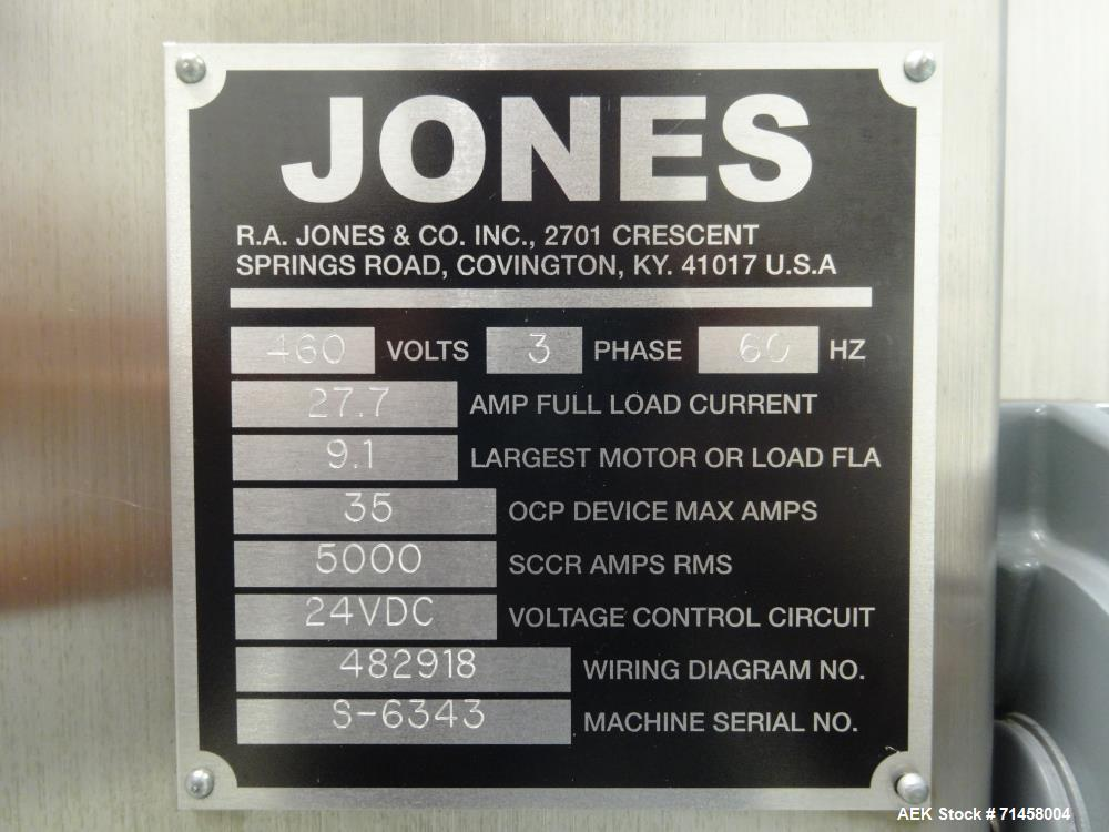 "Used- Jones Model ""Wraptor"" Wraparound Sleeve Cartoner"