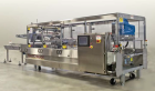 Used- Switchback AM-3H Multi-Pack Sleeve Style Cartoner. In-feed for 2 x 2 (inverted top layer) and 2 x 1 cups with 1:2 prod...
