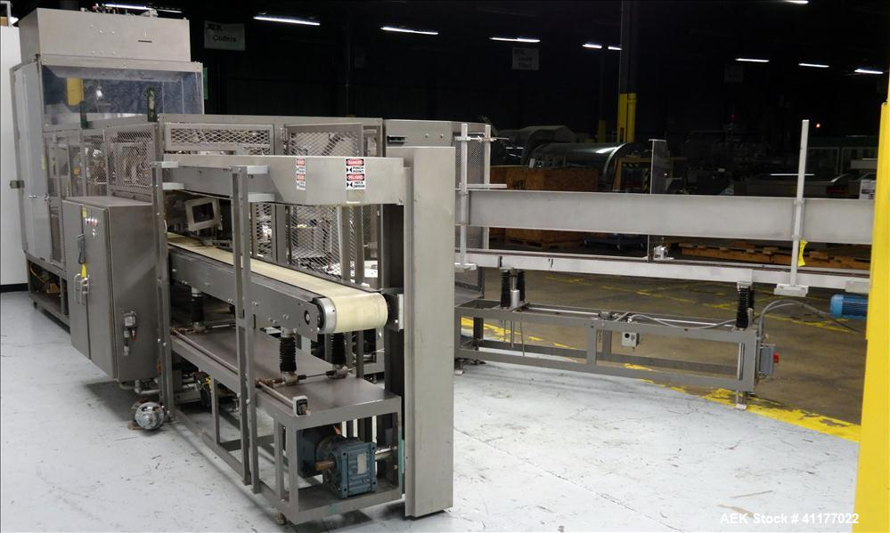 Used- Triangle Continuous Motion Vertical Cartoner, Model VCL-1500