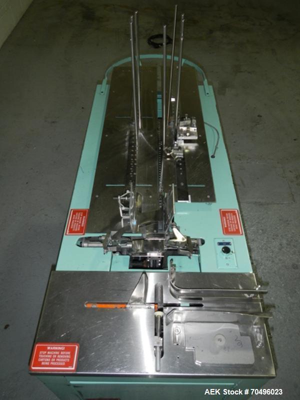 Used- Bivans Case Erector, Model 54L CONVEY-O-MAT, 110 volt, serial# 88-54L/204.