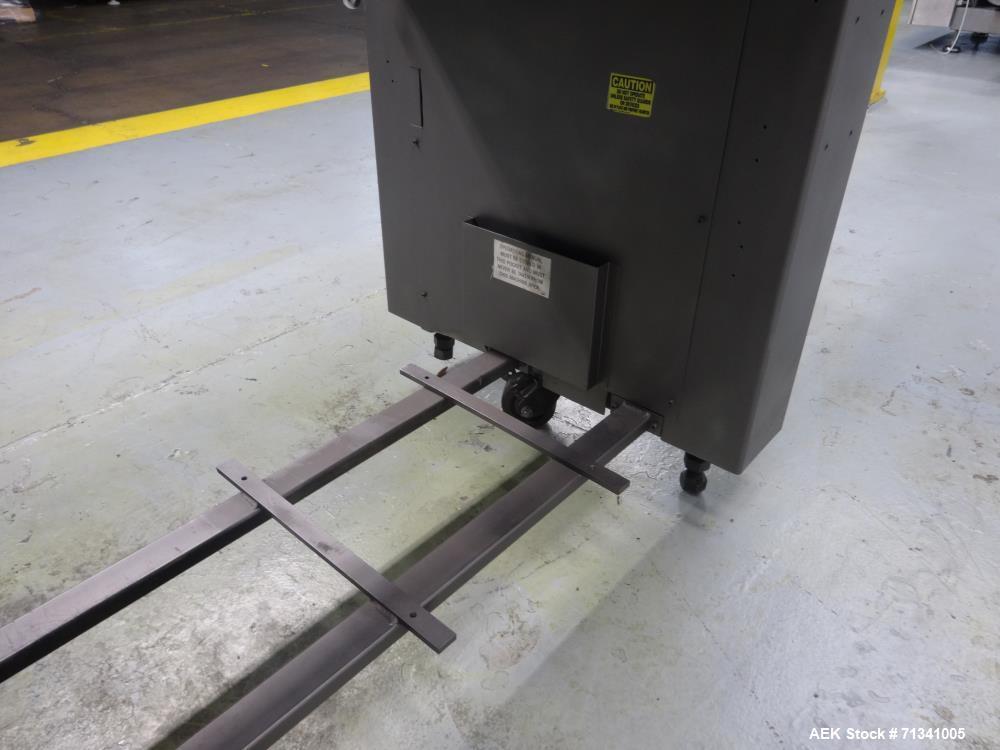 Used- Bivans Model 72T Vertuck Semi-Automatic Vertical Cartoner