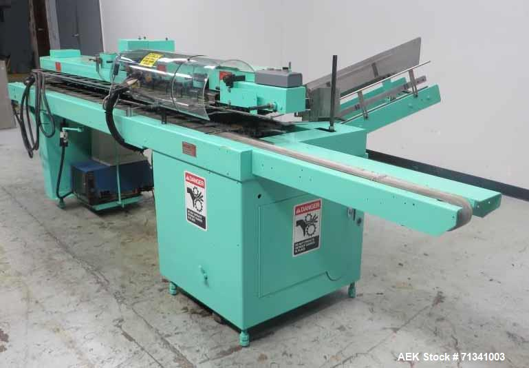 Used- Bivans Model 74T Vertuck Semi-Automatic Vertical Cartoner