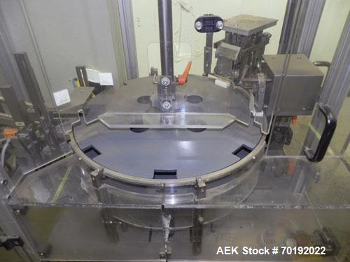 Used- Brunner Model VC Vertical Tuck Intermittent Motion Cartoner.
