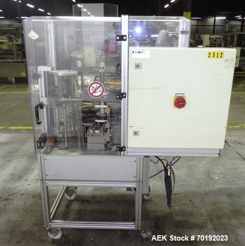 Used- Brunner Model VC Vertical Tuck Intermittent Motion Cartoner.