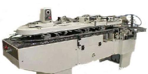 "Used-CAM Model AV 65 Vertical Cartoner. Capacity 60 cartons per minute. Carton sizes: length 1.97"" - 7.48"" (50-190 mm), widt..."