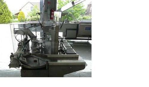 "Used-CMA Minicompact Vertical Vial Cartoner.  Maximum output 35 cartons/minute, vial diameter 1.8"" - 2.6"" (46 - 66 mm), vial..."