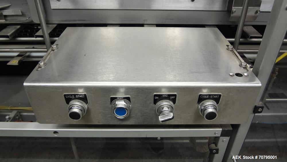 Used- Econocorp Model 6932 V-System Semi-Automatic Vertical Cartoner