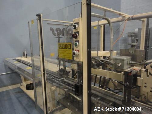 Used-Jones Model CMV5 Semi-Automatic Reverse Tuck with Coder
