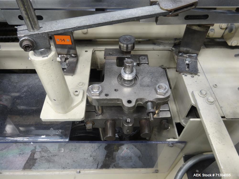 Used- Jones Model CMV5 Semi-Automatic Reverse Tuck Cartoner