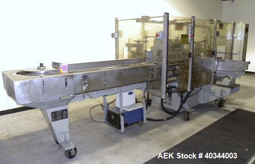 Used- Jones CMV5 Semi Automatic Continuous Motion Vertical Hot Melt Glue Cartone