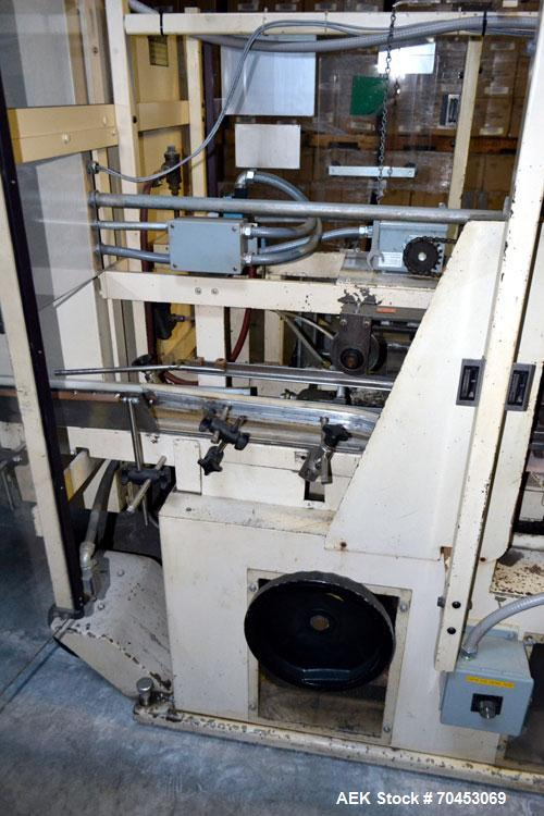 Used- Jones Model CMV5 Semi-Automatic Tuck Vertical Cartoner
