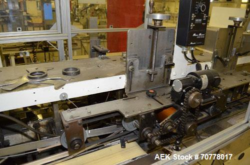 Used- Jones Model CMV5 Semi-Automatic Tuck Vertical Cartoner