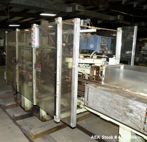 Used- Jones CMV8 Continuous Motion Vertical Cartoner capable