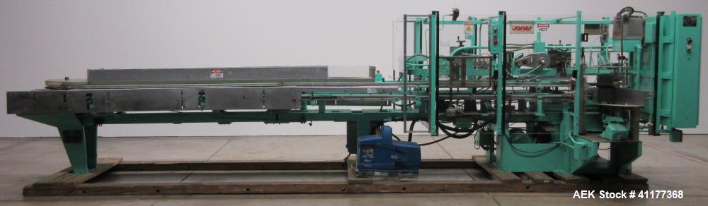 Used- Jones  CMV 8 Continuous Motion Vertical Cartoner.
