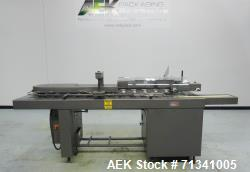 Used- Bivans Model 72T Vertuck Semi-Automatic Vertical Cartoner