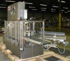 Used- Tisma Vertical Cartoner, Model TC-50E. Capable of speeds to 200 cartons per minute. Currently set up with 2