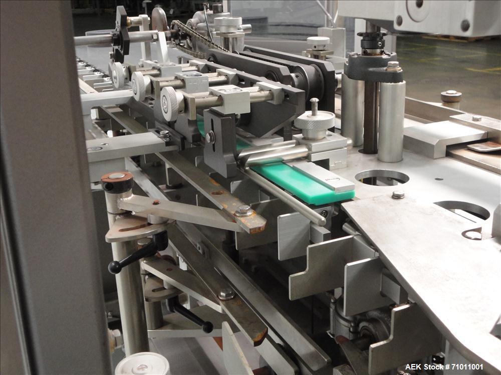 Used- Tisma Semi Automatic Vertical Cartoner, Model TC-50E