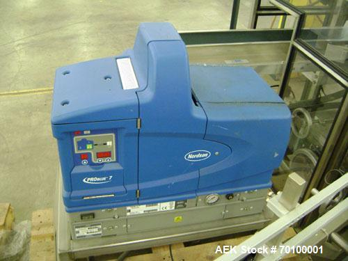 "Used- Tisma (SWF) VT-100-RH Vertical Cartoner capable of speeds up to 100 cartons per minute. Unit has 7-1/2"" centers, fixed..."