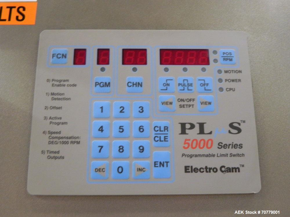 Used- Tisma (SWF) VT-100-RH Vertical Cartoner with glue flap closures. Capable of speeds up to 200 cartons per minute. Unit ...