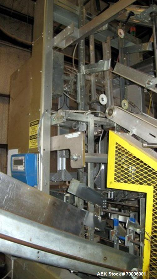 Used- SWF Case Erector model BF-400 Bliss-Matic. This tray former is of stainless steel construction. Case size range: lengt...
