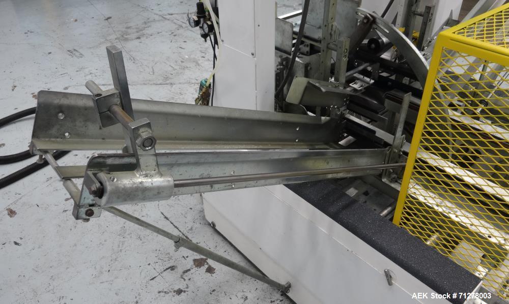 Used- SWF Model BF400V Bliss-Matic Bliss Case Former