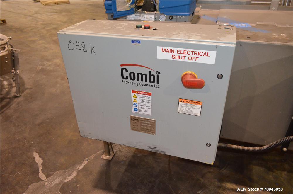 Used-Combi Case Erector and Hot Melt Bottom Sealer,  Model 2-EZHS