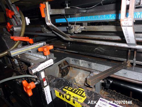 Used- Hartness SWF / McDowell Model 201RH Automatic Case Erector Bottom Sealer