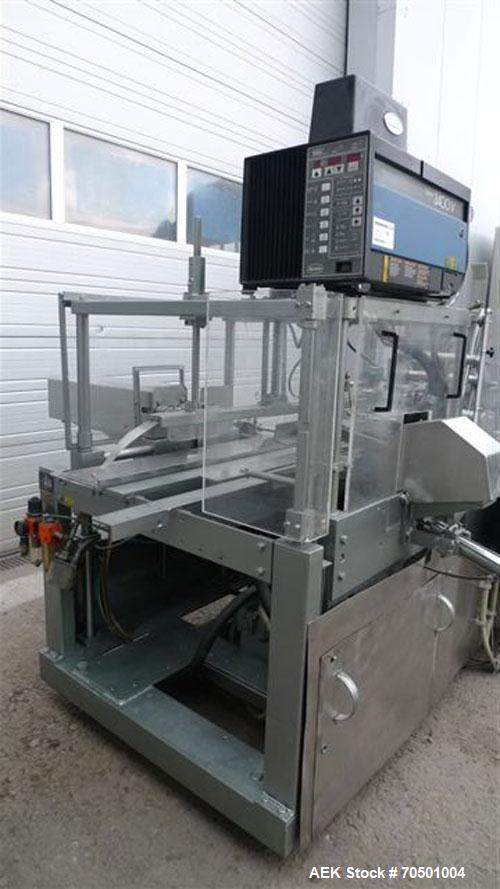 Used-Kettner Z2L Carton Erector and Bottom Closing Machine