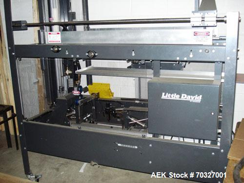 """Used-Used: Little David CF20T Case erector and bottom taper. Capable of 6 cases per minute. Case size range: (Length) 6"""" -16..."""
