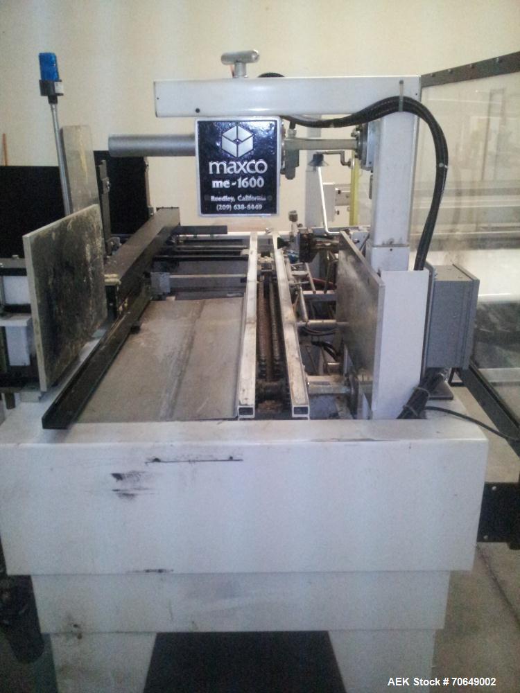 Used-Maxco Model ME-1600 Case Erector